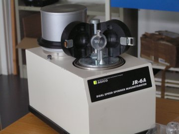 magnétomètre spinner